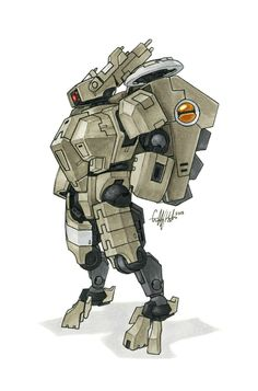 Tau 'Crisis' Battlesuit by Tekka-Croe.deviantart.com on @deviantART