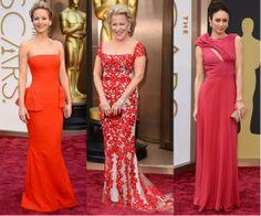 red dresses oscar red carpet 2014