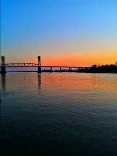 Cape Fear Memorial Bridge. Wilmington, NC