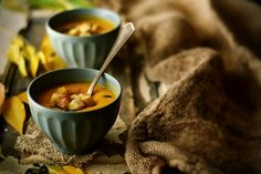 Roasted Pumpkin Soup with Spices