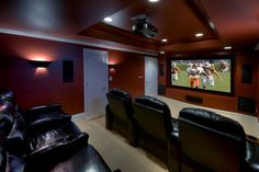 The Perfect Man Cave Lighting for Football Season - Lights Online Blog