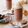 i dont know if you have ever had frozen hot chocolate. but i think it is amazing.