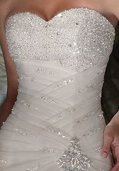 strapless sweetheart wedding dresses with bling - Google Search