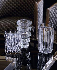 Beautiful Baccarat crystal vases