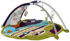 Mamas & Papas MAGIC Stargaze Playmat & Gym $160 -boopy pillow; removable & add able hanging toys -interactive baby sensors that trigger various light shows, sounds, stories, music, etc -MP3 compatible -collect MAGIC cards for more themed light shows & sounds