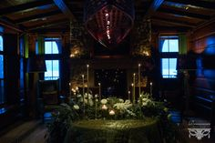 Eloping at the Lodge Lake Placid Lodge, Renaissance, Lodge Wedding, Lodges, Floral Design, Winter, Winter Time, Cabins, Floral Patterns