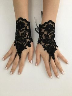 Black Lace Gloves, W Dresses, Masquerade Ball, Beaded Lace, Knitting Patterns, Special Occasion, Dream Wedding, Goth, Ribbon
