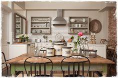 cocinas rusticas decoracion provenzal