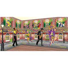 Mardi Gras Design-A-Room Jester Set - OrientalTrading.com