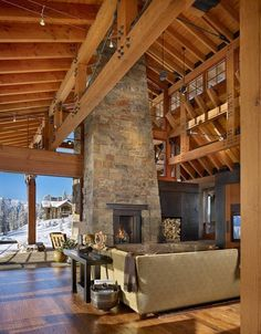 Luxury Rustic Houses Are Becoming an Addiction (39 Photos) - Suburban Men