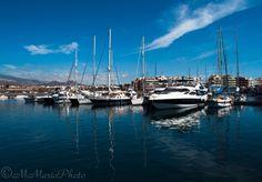 Barcos en @Marina del Sur Tenerife - Puerto deportivo #LasGalletas #Arona #Tenerife -
