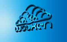 3WOLKEN logo blue by Kris