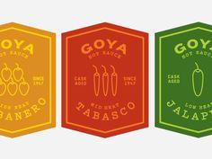 Hot Sauce Labels by Petra Cuschieri