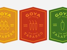 Hot Sauce Labels by Petra Cuschieri
