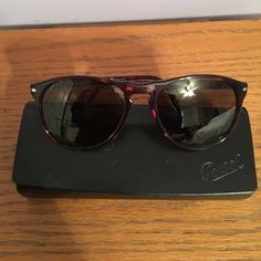 e123bf2c04 Persol Sunglasses PO9649S NEVER WORN BRAND NEW polarized brown lenses Persol  Accessories Sunglasses Persol