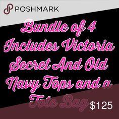 Mystery Bundle Of 4 items Mystery Bundle Of 4 items Victoria's Secret Tops
