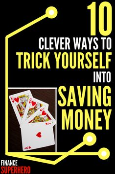 Want to finally start saving more money? Use these 10 clever psychological tips to trick yourself into saving money and watch your savings grow!
