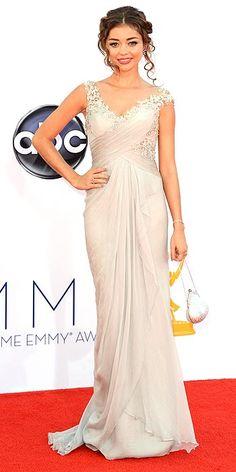 Sarah Hyland, 2012 Emmys Red Carpet