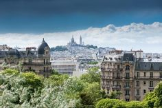 Sacre-coeur from the Parc des Buttes Chaumont (Photo: Philippe Lejeanvre/Moment Open/Getty Images)