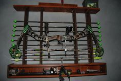 Wooden Bow Rack Plans