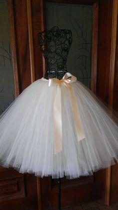 ADULT Couture Tutu - Long Tutus - Photo Tutus -  Adult Custom Made Tutus - Flower Girl Tutus - Wedding Tutus