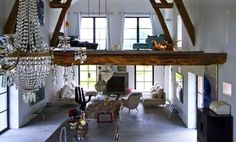 french barn converted into family home