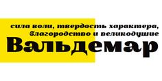 Waldemar 4F™ - Webfont & Desktop font « MyFonts