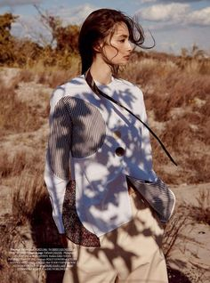 Alexandra Agoston in Boy Meets Girl for Dress to Kill Magazine