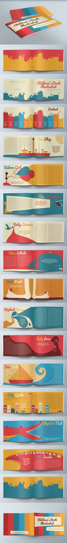 Fantastic Children's Book Illustrated #infographics