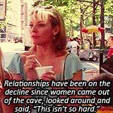 Samantha Jones, I couldn't have said it better myself.