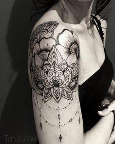 Afbeeldingsresultaat voor tattoo lotus mandala