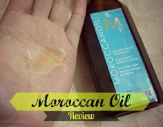 This is the best stuff. I got a sample size to try it (it's kinda pricey), and it works wonders. Smells great, doesn't leave hair looking oily, I love it! Morrocan Oil, Beauty Review, Hair Looks, It Works, Good Things, Cool Stuff, My Love, Hair