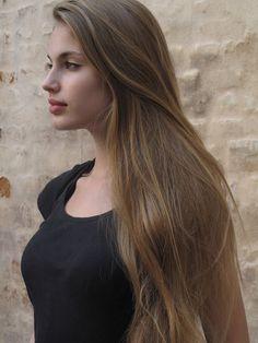 Maja Krag, a Danish model.