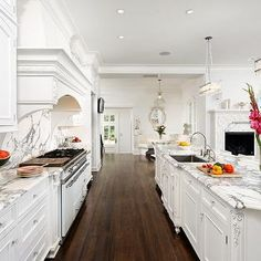 Shaker Cabinets In This Beautiful Hamptons Style Kitchen
