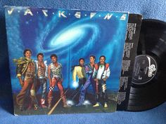 Vintage The Jacksons  Victory Vinyl LP Record by sweetleafvinyl
