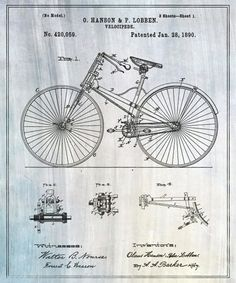 Blueprints of Famous Inventions.