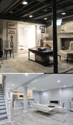 Best DIY Renovation Ideas for unfinished Basement