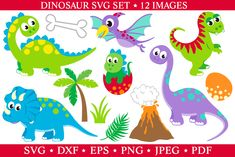 Free Dinosaur Svg Dxf Png Eps Dinosaur Cut Files Trex Svg Crafter File SVG graphics created in Inkscape with public domain license SVG cut files silhouettes and transparent PNG clip art. Free Svg Cut Files, Svg Files For Cricut, Cricut Vinyl, Cute Dinosaur, Dinosaur Party, Free Icon Packs, Free Graphics, Illustrations, Free Baby Stuff