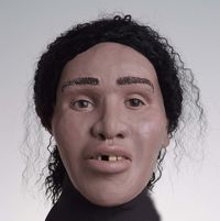 Subject: Black Female Age: 20 to 30 Height: to Weight: Unknown, slender build Other: Missing front tooth Date of Discovery: June 2006 Location of Discovery: Detroit, Mich. Forensic Facial Reconstruction, John Doe, Missing Persons, Cold Case, State Police, Criminal Minds, Serial Killers, Detroit Michigan, Teeth