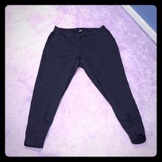 Dark gray pin stripes crop pants Dark gray pin stripes crop pants. Torrid size 12. New with tags. Torrid Pants Ankle & Cropped