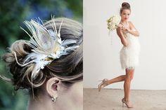 feathers......wedding style
