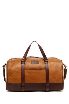 Leather Duffle on HauteLook.. i need this one! would fit perfectly to my new fossil wallet