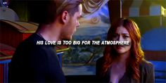 thats truuuu ❤❤ he really love claryyyy and thats never change. Clary E Jace, Clary Fray, Dominic Sherwood, Jace Wayland, Clace, Katherine Mcnamara, City Of Bones, The Infernal Devices, Keep Calm And Love