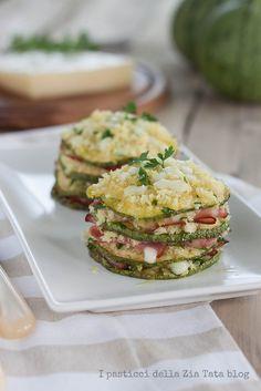 Parmigiana di zucchine tonde e asiago