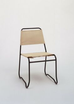 """Jack Heaney. """"Aluma-Stack"""" Stacking Chair. c. 1947"""