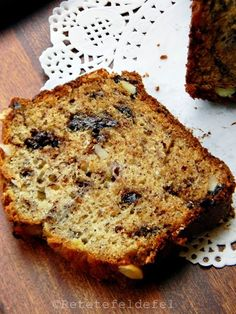 Sweet Bread, Ricotta, Fruit Cakes, Banana Bread, Food And Drink, Desserts, Recipes, Banana, Tailgate Desserts