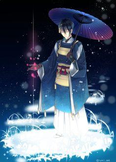 Manga Anime, Anime Art, Touken Ranbu Mikazuki, Anime Black Hair, Character Art, Character Design, Otaku Mode, Bishounen, Handsome Boys