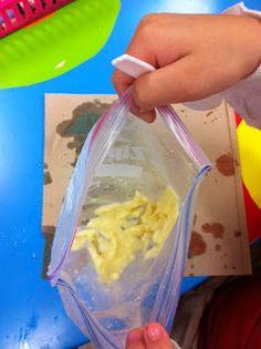 making icecream for solid, liquid, gas unit