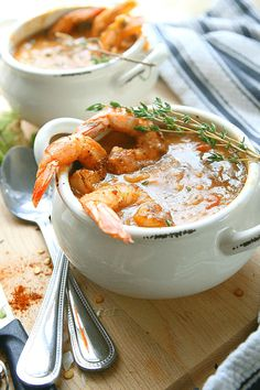 Cajun Shrimp Chowder | Amy in the Kitchen #NationalComfortFoodDay