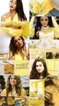 Normani, Camila, Dinah Jane, Lauren, Ally in yellow